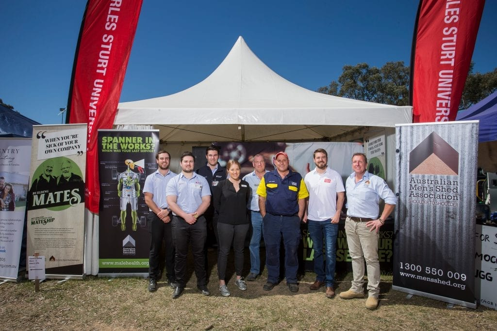 Thanks to Uncle Tobys the Australian Men's Shed Association and CSU will deliver free health checks at HMFD 2019